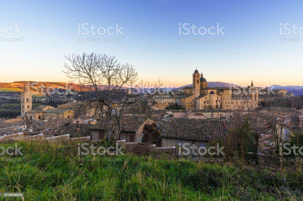Urbino (Marche, Italy) royalty-free stock photo