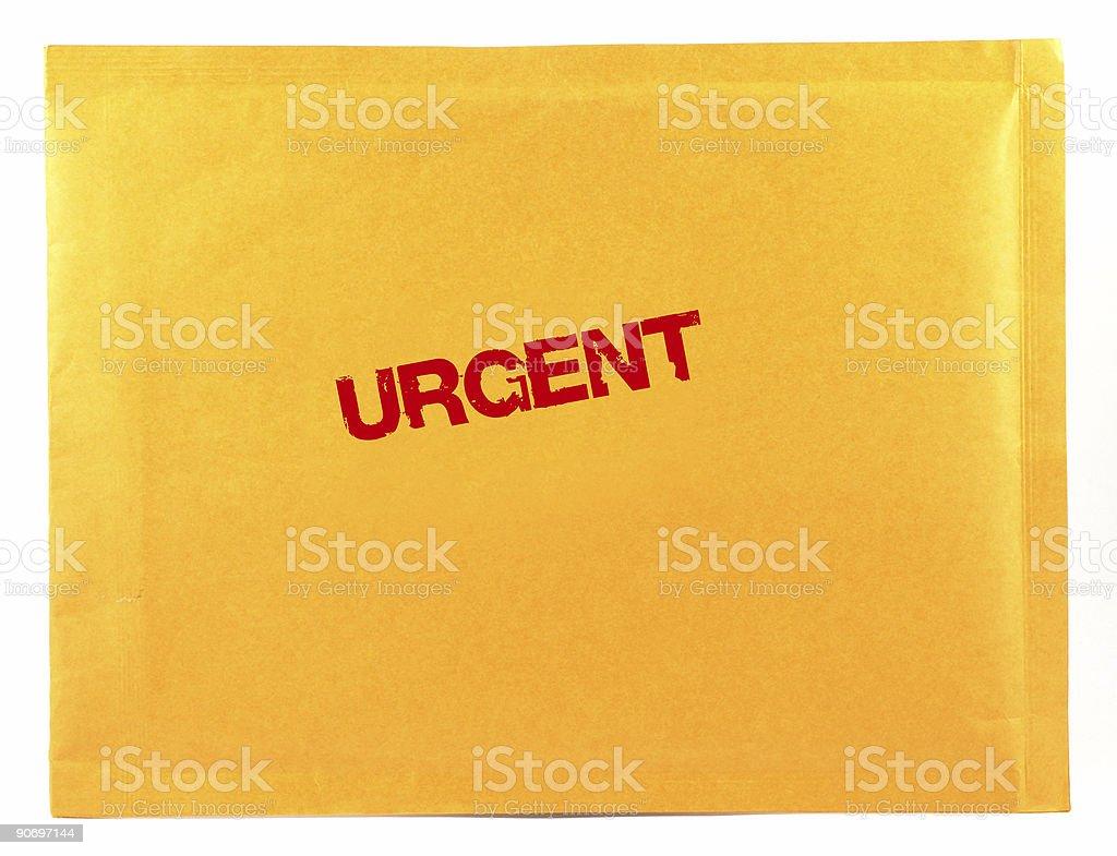urgent mail royalty-free stock photo
