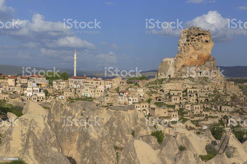 Urgup in Cappadocia, Turkey stock photo