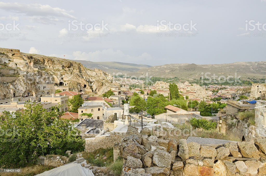 Urgup town, Turkey stock photo