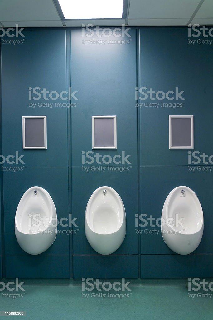 urinals stock photo