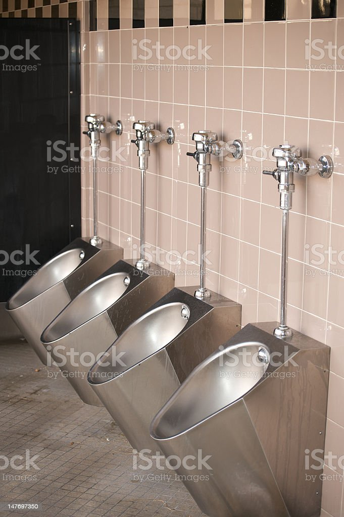 Urinals royalty-free stock photo