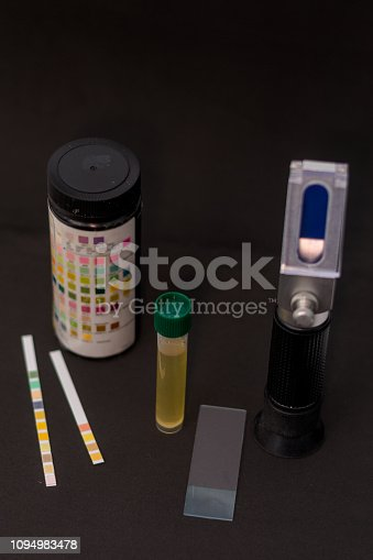 quick tests for urine sample