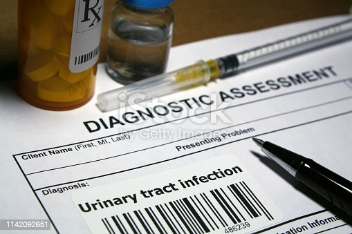 Diagnostic assessment - Urinary tract infection