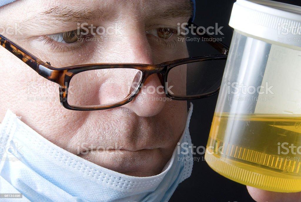 Urine Specimen royalty-free stock photo
