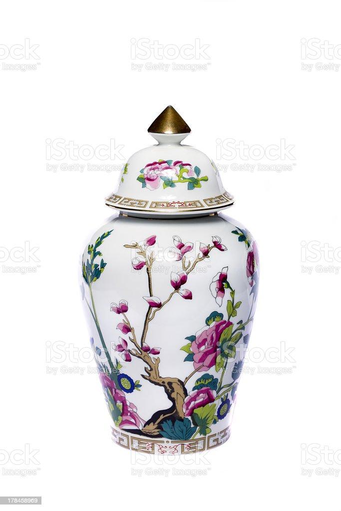urn ceramic vase stock photo