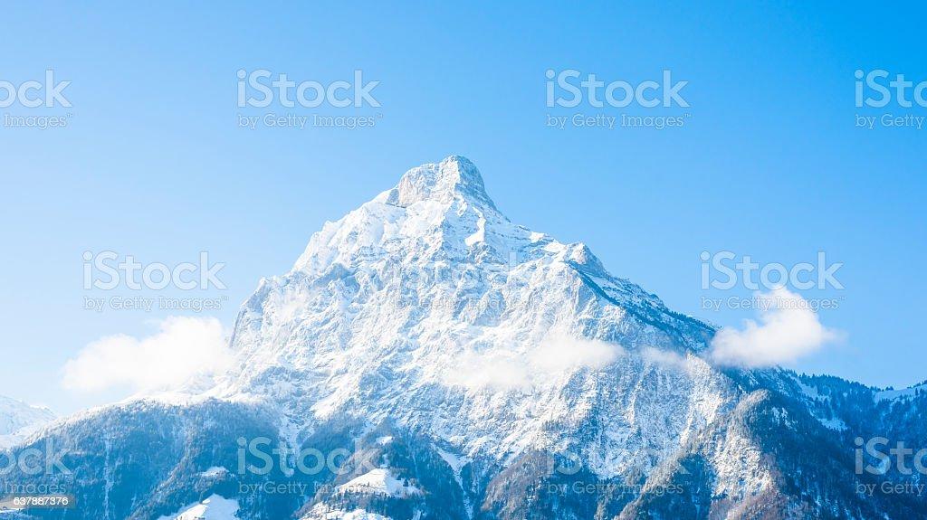 Urner Alps, Gitschen. 2513 m stock photo