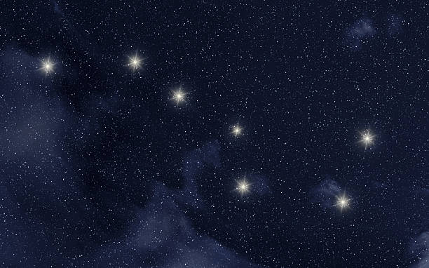 Ursa Major constellation  big dipper constellation stock pictures, royalty-free photos & images