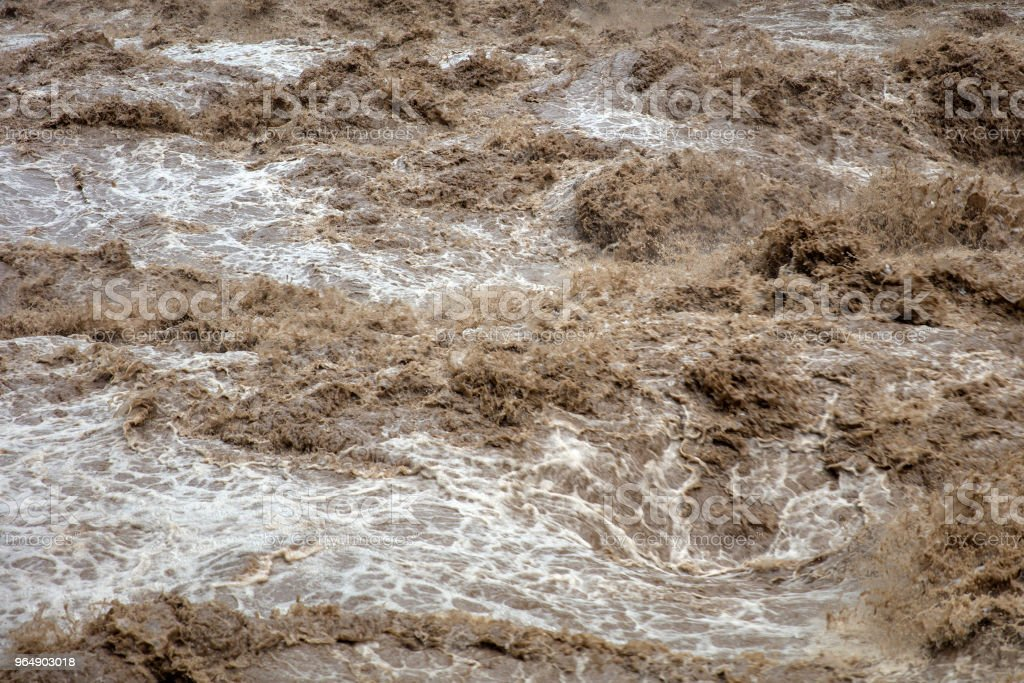 Urubamba river in Peru royalty-free stock photo