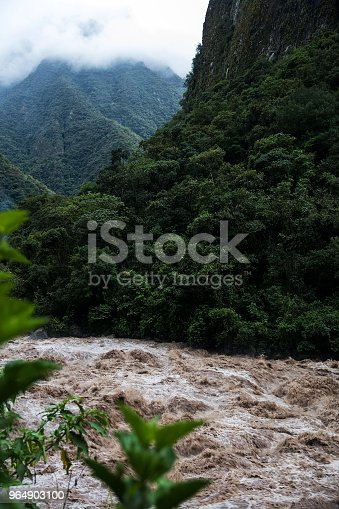 Urubamba River In Peru Stock Photo & More Pictures of Andes