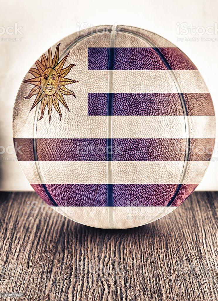 Uruguay basketball stock photo
