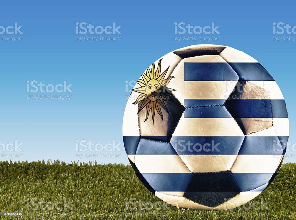 Uruguay football stock photo