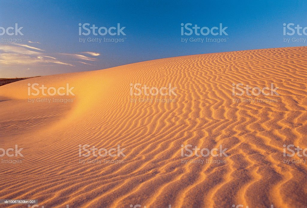 Uruguay, Rocha, Cabo Polonio (Cape Polonio), sand dunes royalty-free stock photo