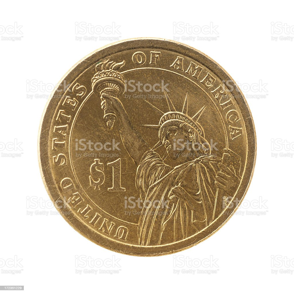 Us Coins royalty-free stock photo