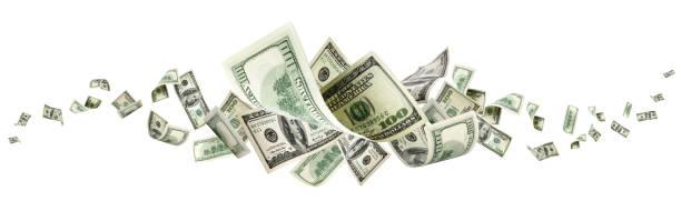 美元鈔票華盛頓美國現金回降美元 - money 個照片及圖片檔