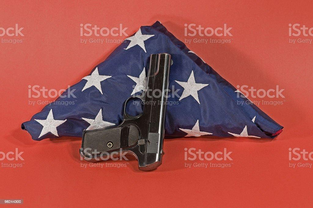 us guns royalty-free stock photo