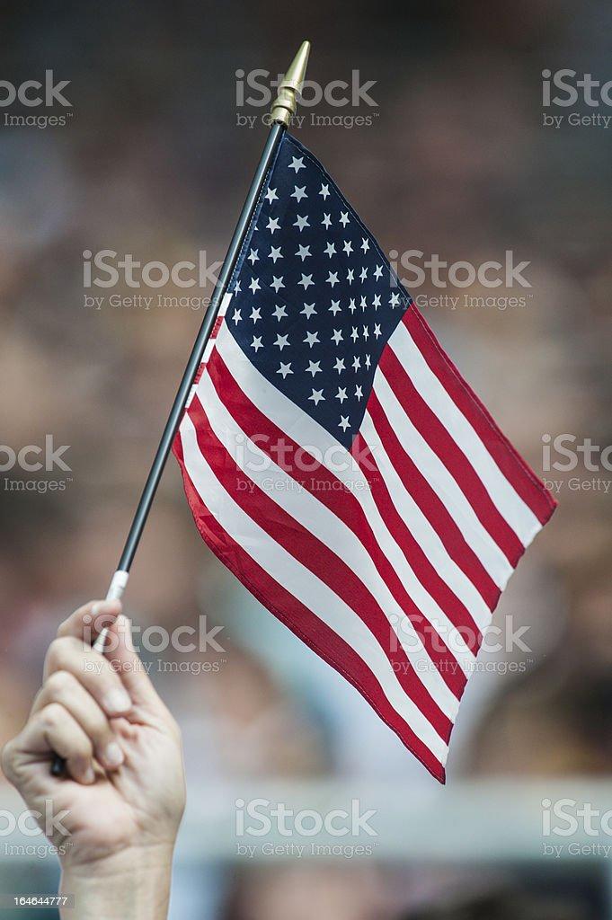 US_Flagge royalty-free stock photo