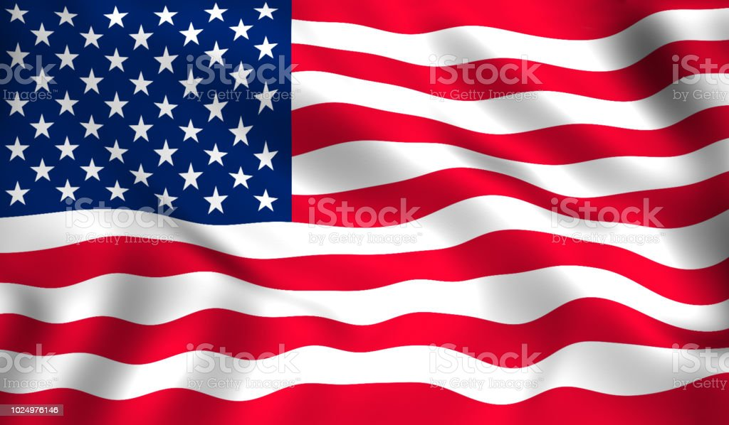 usa flag symbol of America stock photo