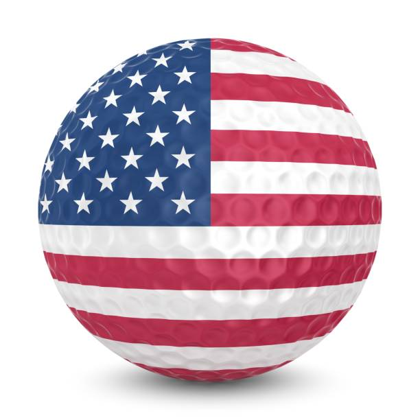 usa golf stock photo