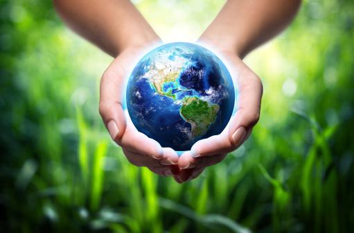 Usa In Globus In Den Händenelementen Eingerichtet Von Der Nasa Stockfoto und mehr Bilder von Amerikanische Kontinente und Regionen