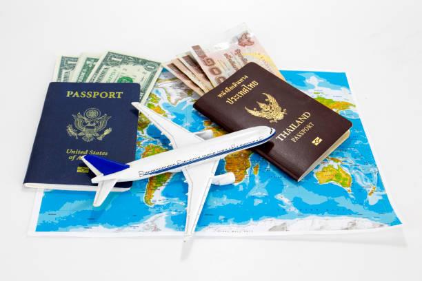 Usa passport thailand passport on map with air plane on isolated picture id686491540?b=1&k=6&m=686491540&s=612x612&w=0&h=cmmw40lyymnxfwrslaso4jrjrdohtocdky7pre2mc3u=