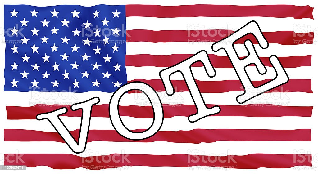 Usa president election royalty-free stock photo