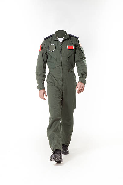 Usable fighter pilot's body without head to use for retouch Usable fighter pilot's body without head to use for retouch. major military rank stock pictures, royalty-free photos & images