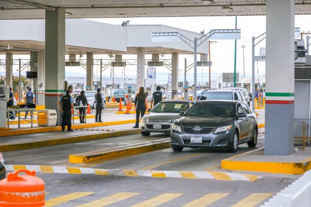 USA/Mexico Border - Calexico stock photo