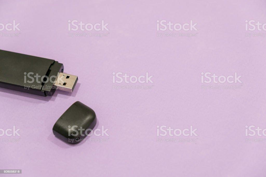 usb drive, flash drive, trump drive stock photo