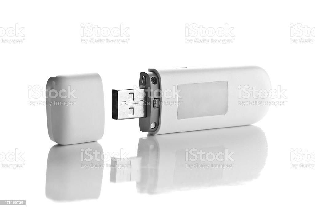Usb flash drive royalty-free stock photo