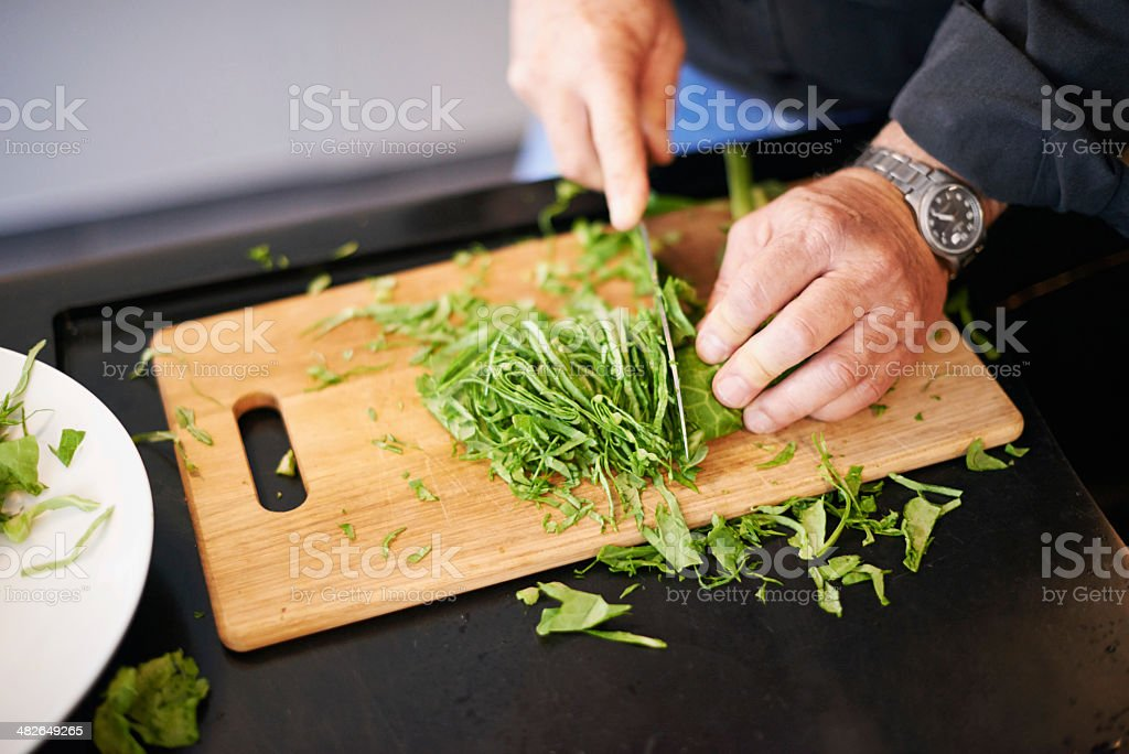 I use only the freshest ingredients royalty-free stock photo
