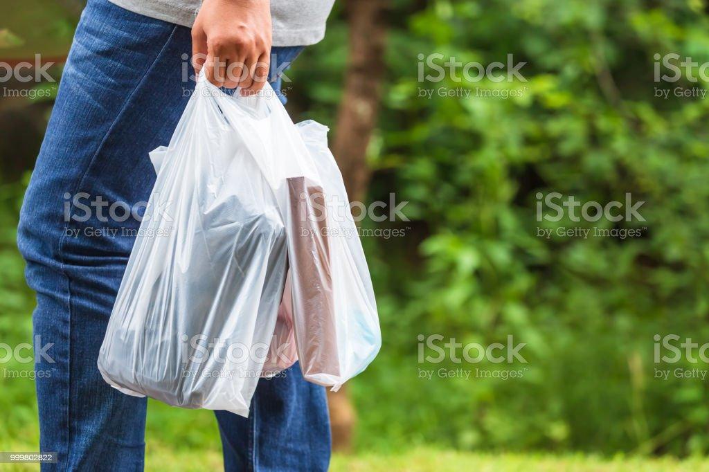 Verwenden Sie Plastiktüten – Foto