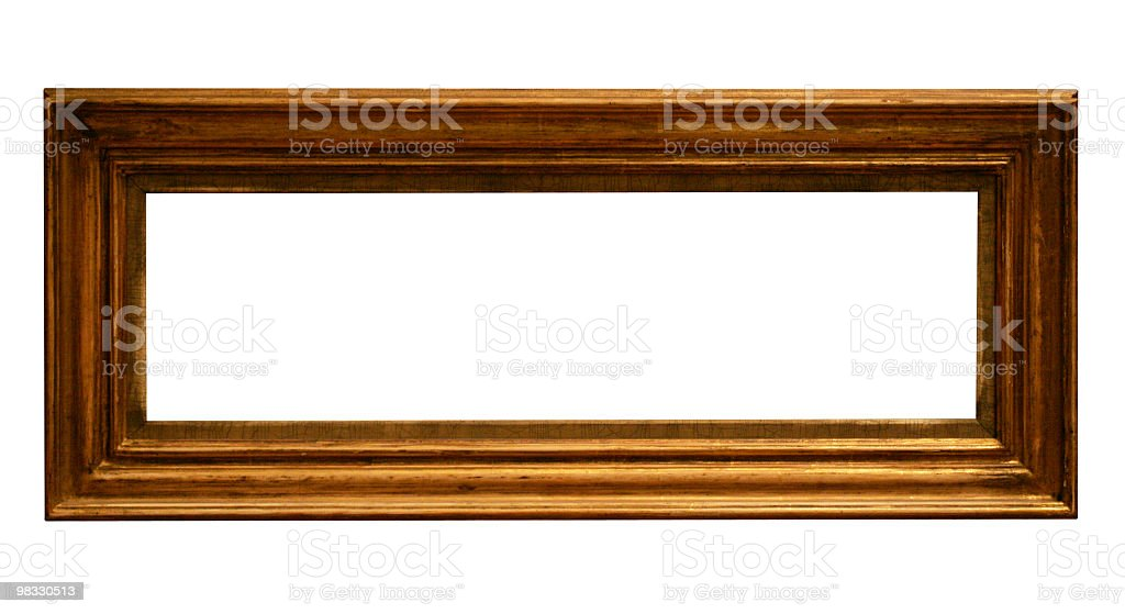 Use this long frame in your design royalty-free stock photo