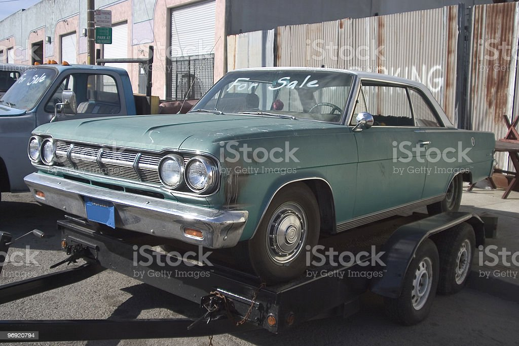 Used Car royalty-free stock photo