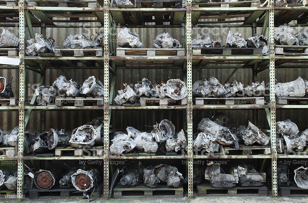 Um die Motoren zum Verkauf verwendet – Foto