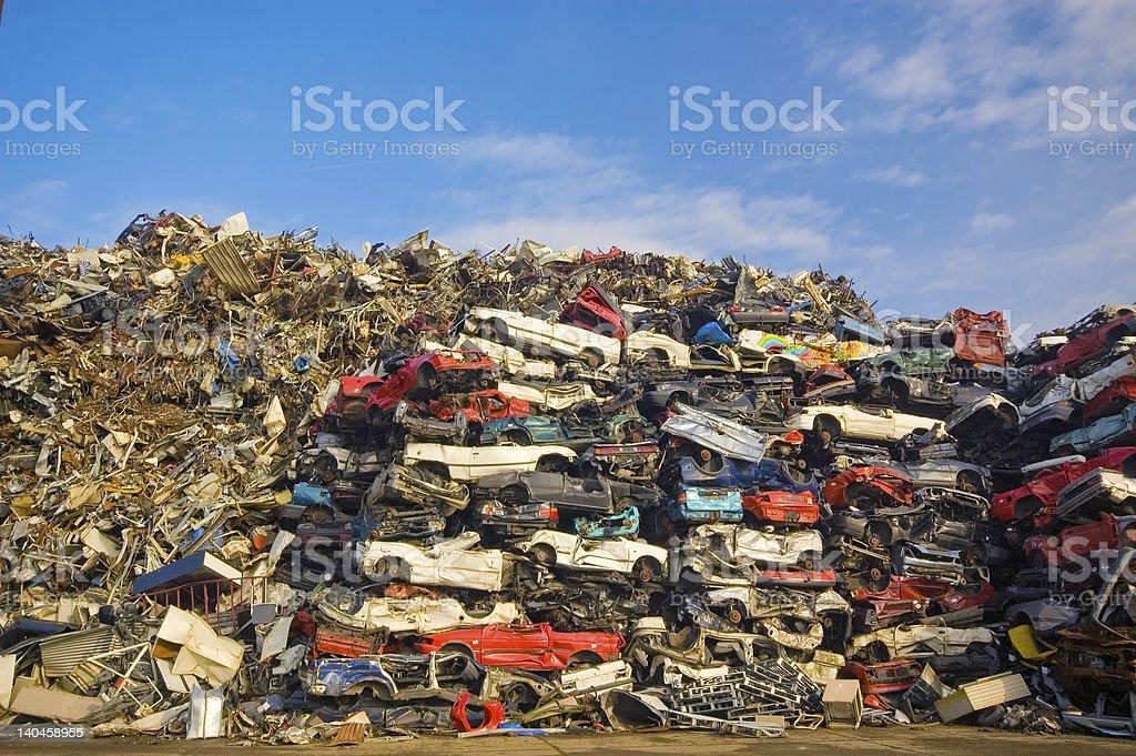 used cars stock photo