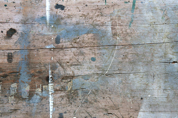 Used old wooden board Rustic used old wooden board in shabby chic workbench stock pictures, royalty-free photos & images