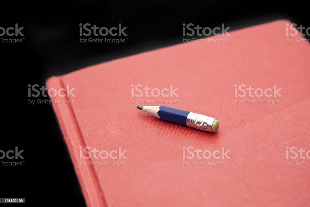 Used pencil royalty-free stock photo