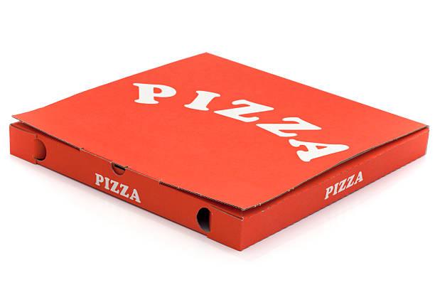 używane pudełko na pizzę - karton zbiornik zdjęcia i obrazy z banku zdjęć