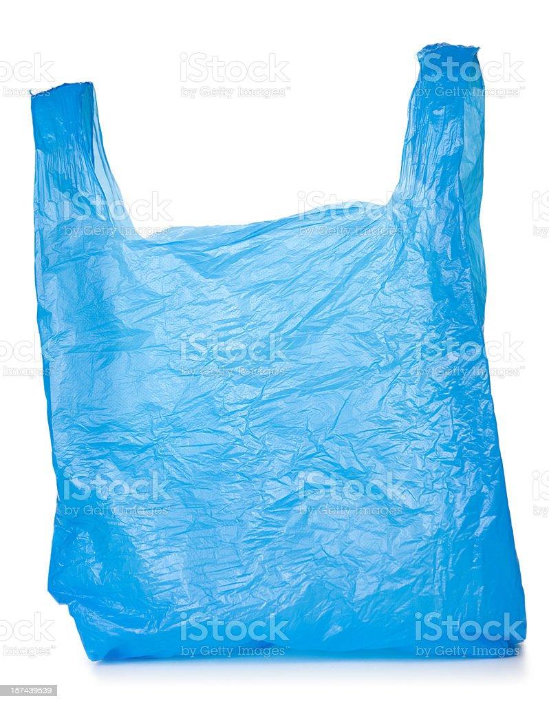 Used Plastic Bag stock photo
