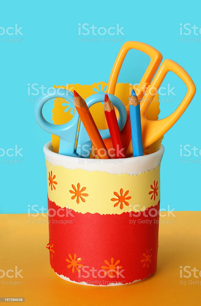 useful tools for children royalty-free stock photo