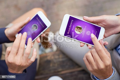 istock User authentication for mobile banking 657174560