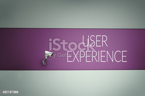 istock User experience text on wall 492197388