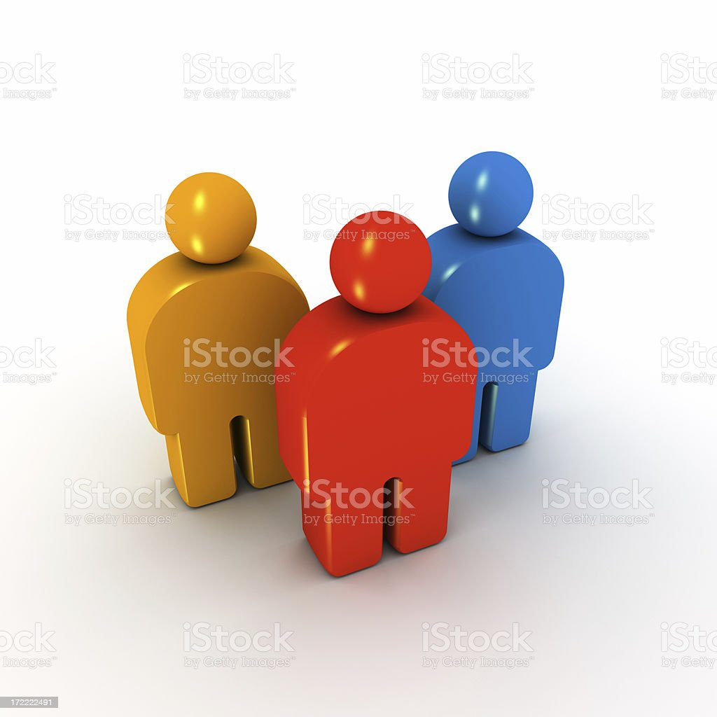 User group royalty-free stock photo