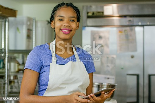 istock Using a Tablet in the Kitchen 638952904