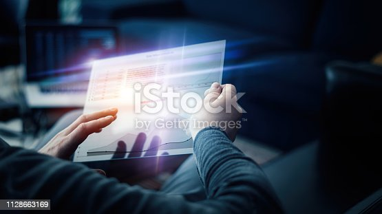 960164282istockphoto Using hi technology digital tablet 1128663169