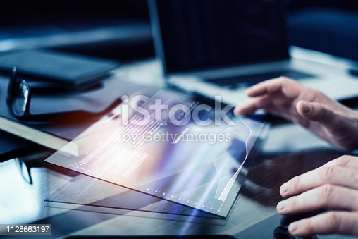 960164282istockphoto Using hi technology digital tablet 1128663197