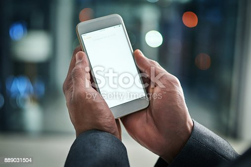 istock Using his contacts to his business advantage 889031504