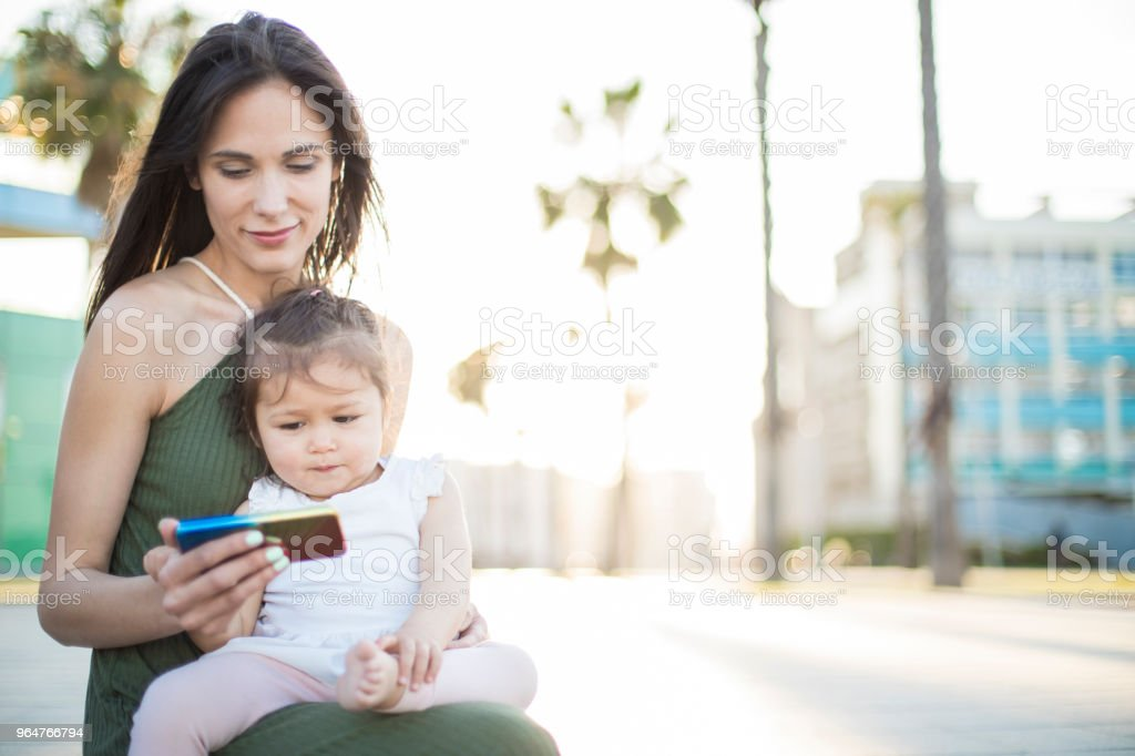 Using mobile phone. royalty-free stock photo