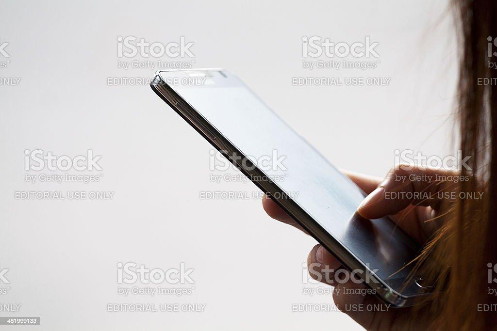 Mit Samsung Galaxy S4 – Foto